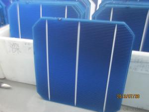 Monocrystal Solar Energy Cell 156 156mm with 18.4  Efficiency