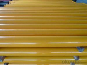 Twin Wall Pipe for Concrete Pump Pipe Thickness 4.5mm Length 2000mm