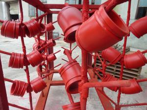 Twin Wall Elbow for Concrete Pump R180 90DGR