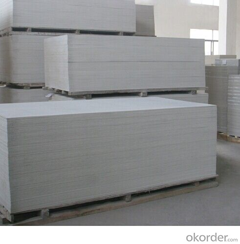 non asbestos free fiber cement board UV/Fluorocarbon treatment