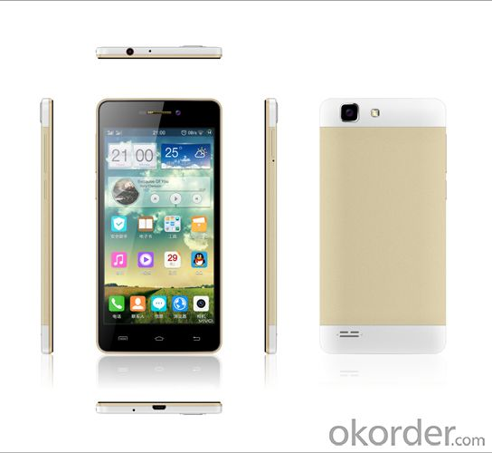 Android 4.4 MTK6582M 5.0 inch Quad core Smartphone