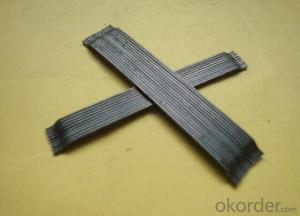 Glued Steel Fiber for Concrete Reinforcement
