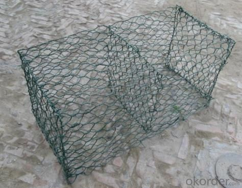 PVC Galvanized Gabion Box For Stone