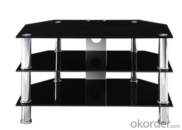 top selling glass tv table