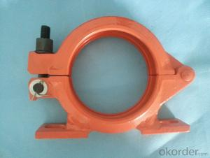 Concrete Pump Bolt Mounting Clamp DN125 Forged