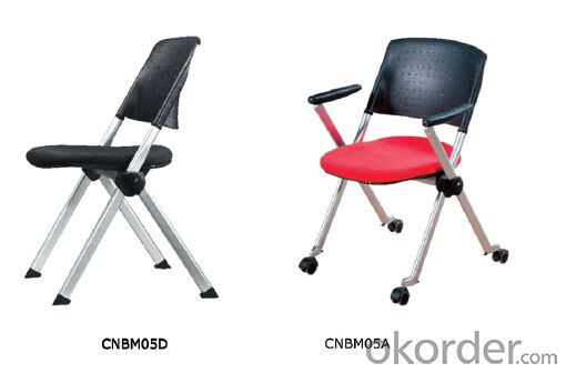 Modern Folded Black Office Chair CN05D