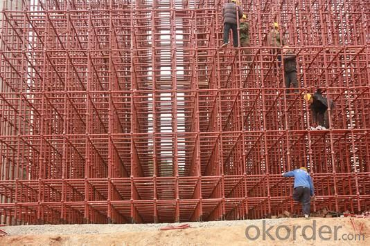 Cup-lock System Scaffolding for Construction