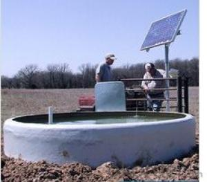 Solar AC Irrigation Pump System