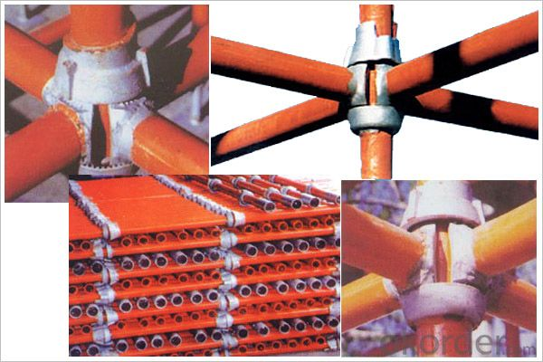 Cup-Lock Scaffolding steel System in China Building