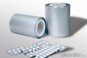 Aluminum foil for pharmaceutical use