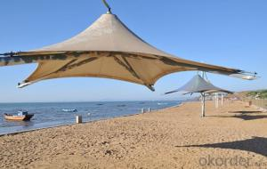 Beach Shade Net  Plastic High Quality Sun Shade Sail