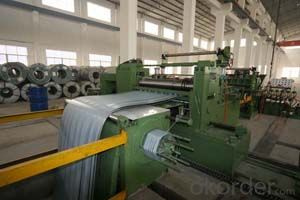 Slitting and Cut to Length Line-Aluzinc steel coil