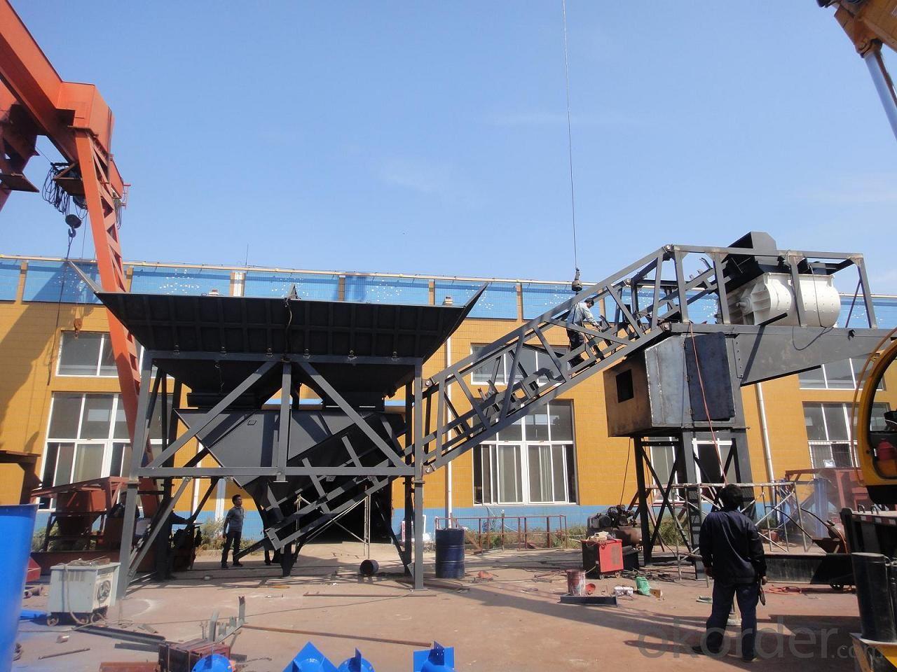 HZS 50 Mobil  concrete batching plant
