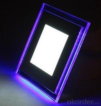Hot selling 220v led panel light,double color LED Panel light