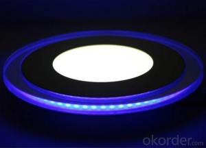 Hot selling 220v led panel light,double color LED Panel light