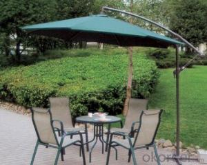 Green Booth with HDPE Plastic Shade Sail