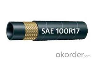 Wire Braided hydraulic hose SAE 100R17