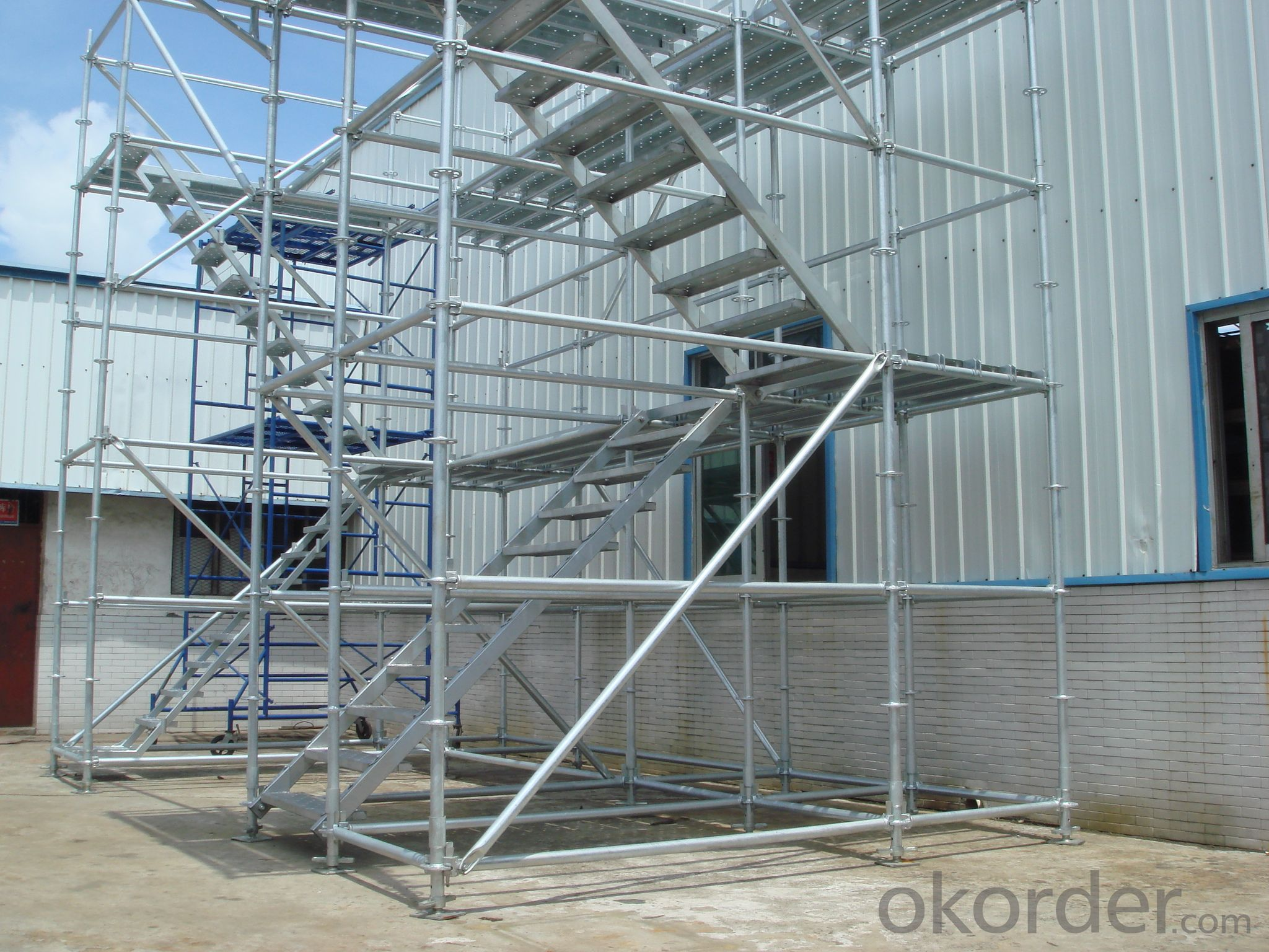 Buy All round system scaffolding/Ring lock system scaffolding ...