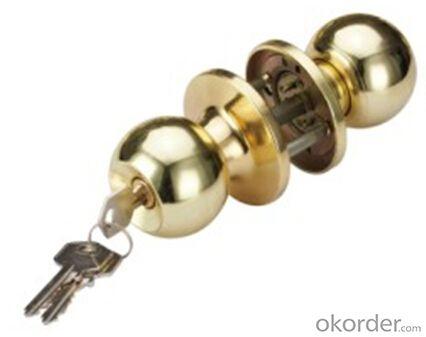 Round Knob Door Lock 607 PB/ET