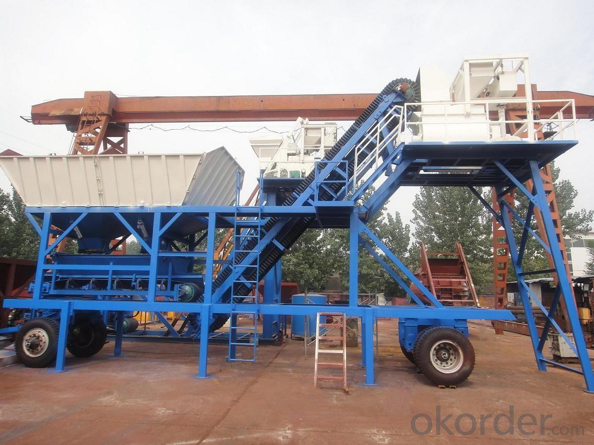 HZS 25 Mobil  concrete batching plant
