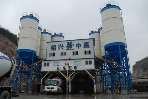 HLS 180 concrete batching plant