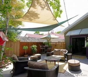 Sun Resistant Shade Sail for the Garden