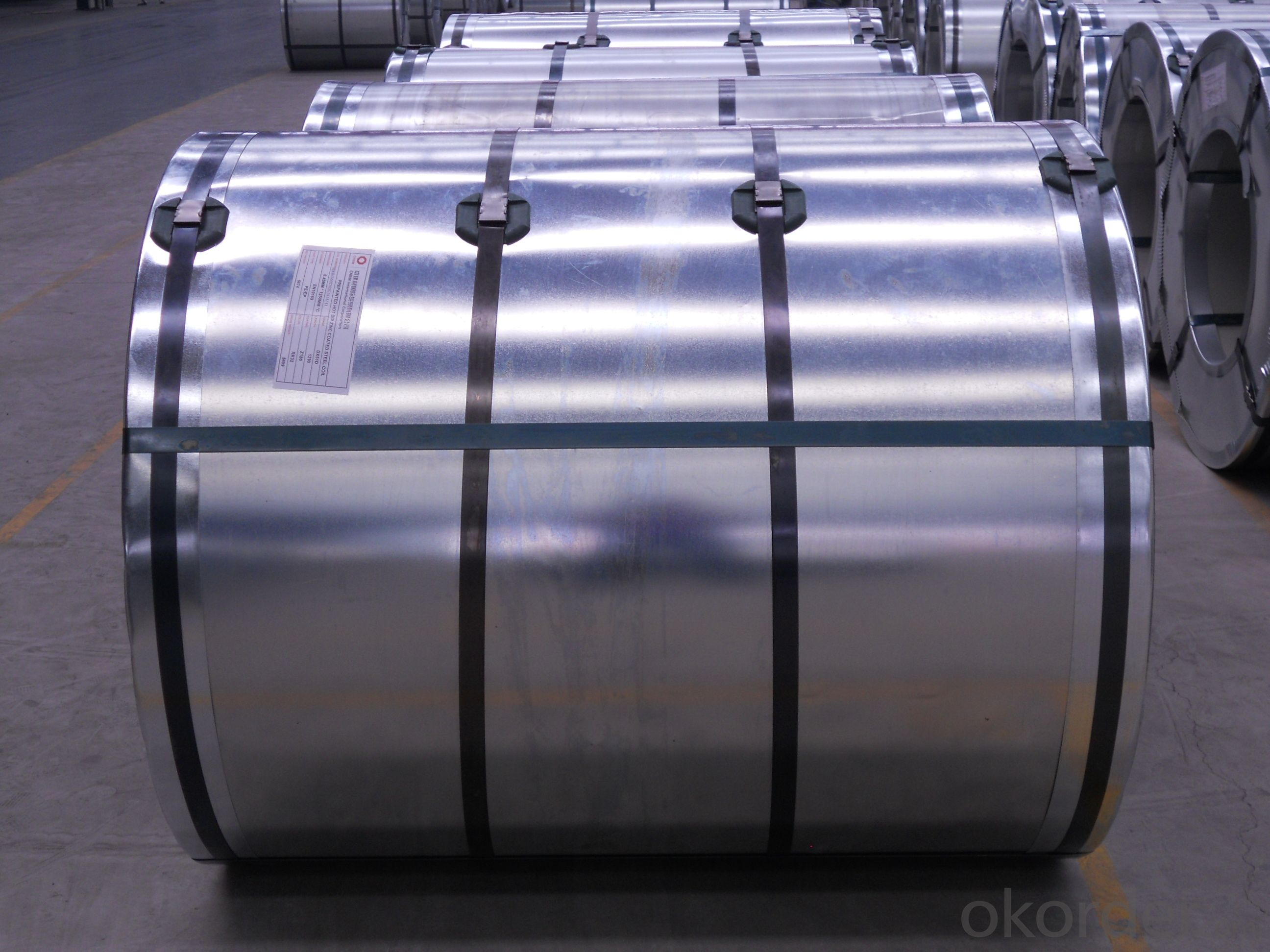 Hot Dipped Galvanized Steel Coil/Sheet-0.3mm*1250mm*C