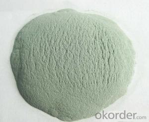 Green Silicon Carbide for refractory bricks plant -SIC 99