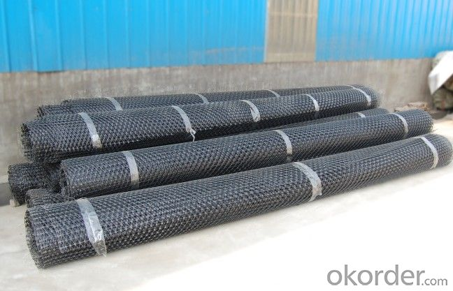 PP Biaxial Geogrid with CE certificate
