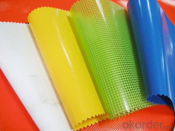 Coated Fabric PVC Tarpaulin