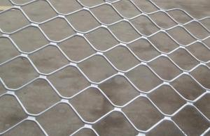 Aluminum Beautiful Grid Wire Mesh