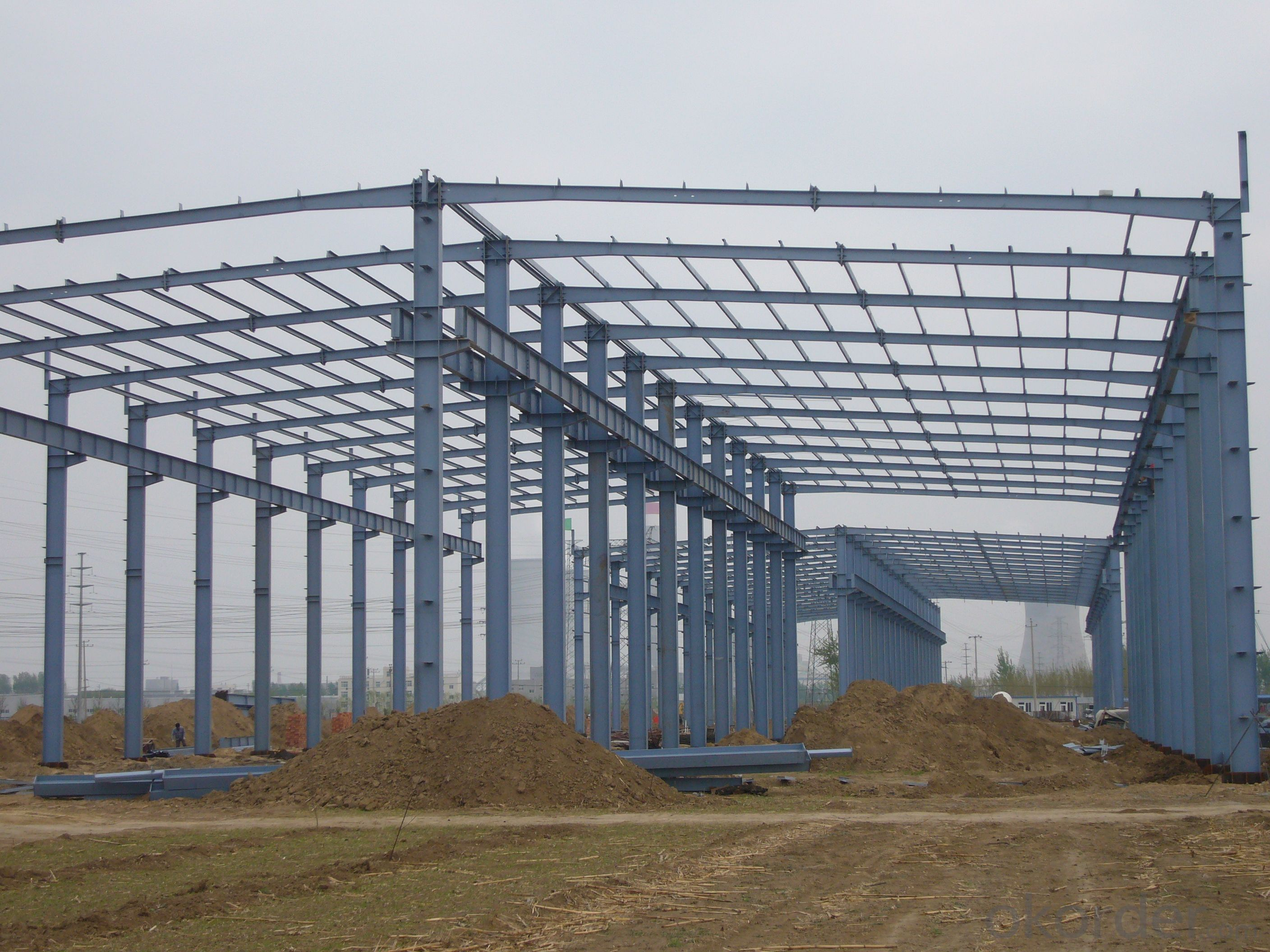 Light Steel Structure with High Quality