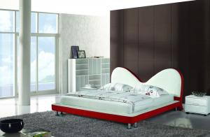 High Quality Modern Leather Bed  CN12