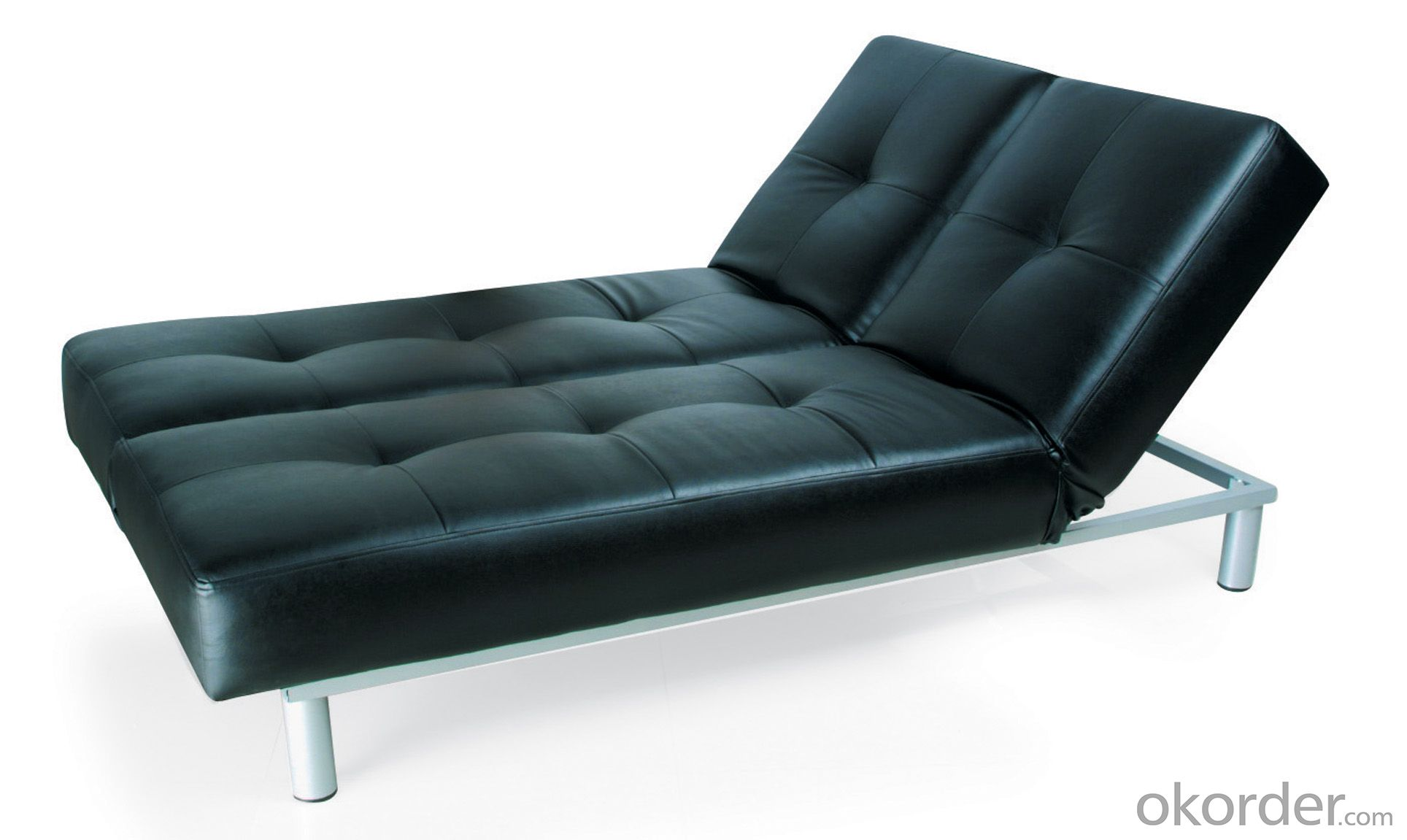 Leather sofabed in pu model-1