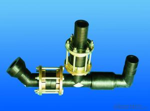 pipe fittings for steel mesh reinforced PE pipe