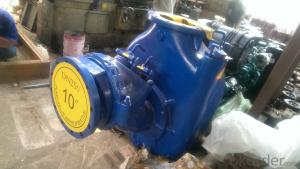 P-10 self priming centrifugal sewage water 10 inches pump