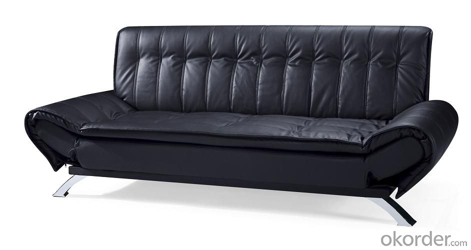 Leather sofabed in pu model-5