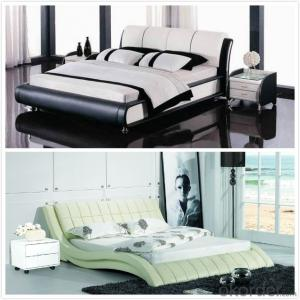 High Quality Modern Leather Bed  CN7