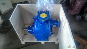 P-2 inch self priming Centrifugal Non-clogging sewage pump