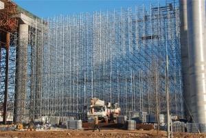 Ringlock scaffoldings