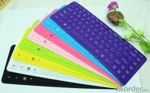 USB Soft Silicone Waterproof Foldable keyboard