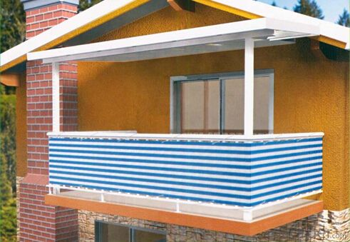 Sunshade Sails for Balcony Awnings