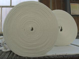 Insulation Ceramic Fiber Yarn Reinforced With Fiberglass