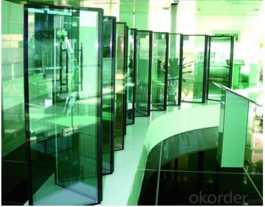 Low-E Coated Glass Hard coated low-e glass Polished Edge Low-E Coated 5mm Tempered Glass