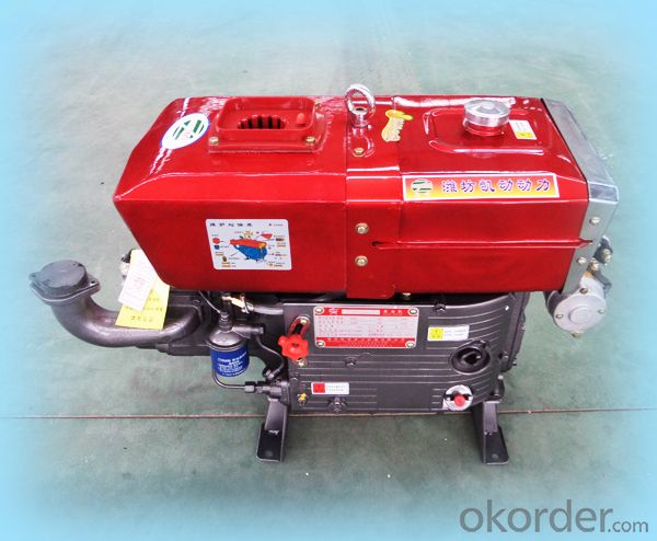 Single Cylinder Diesel Engine Series single-cylinder;vertical line,lying,water cooling,Stroke:115mm