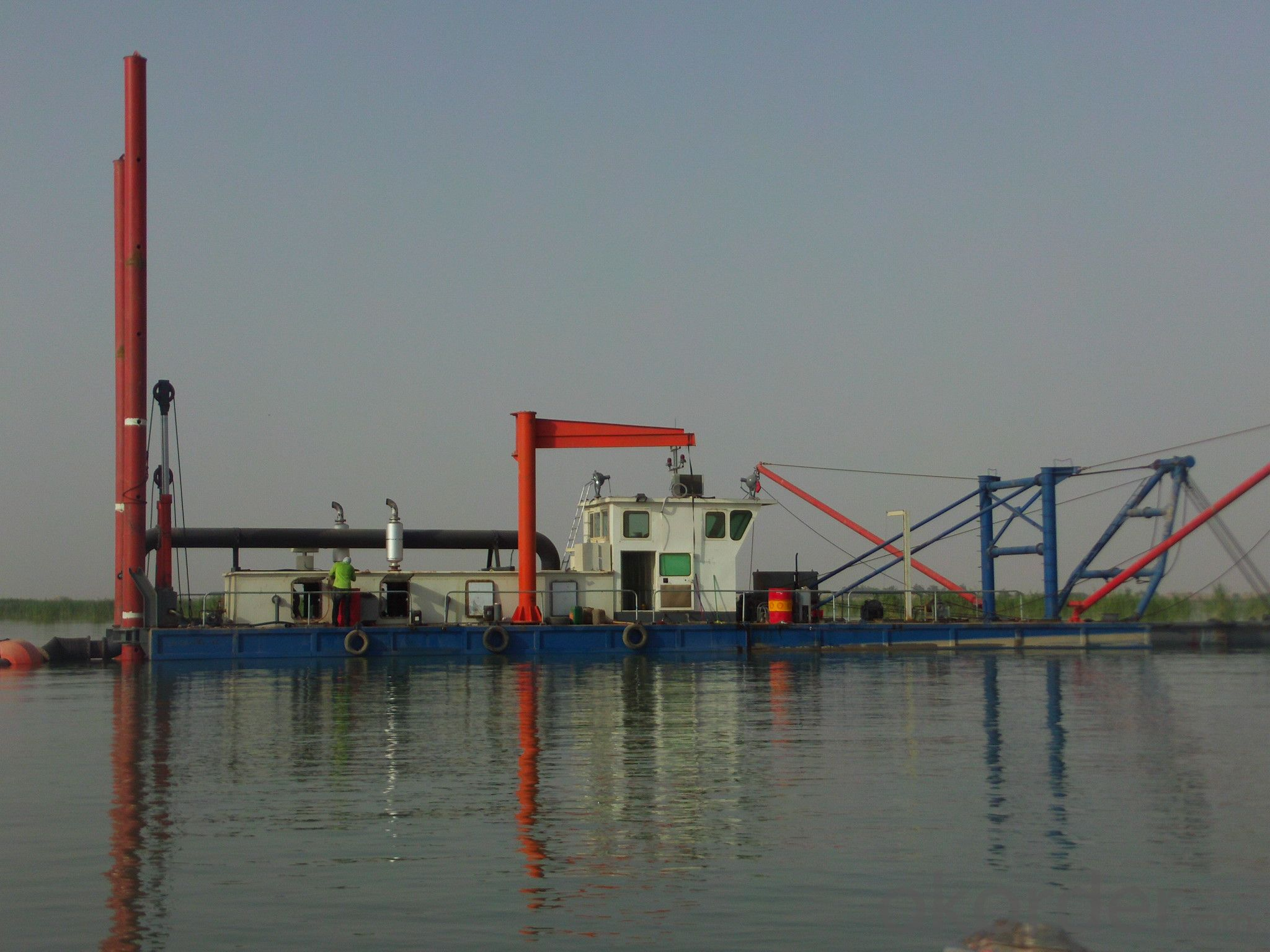CSD-200 Cutter Suction Dredger