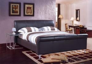 High Quality Modern Leather Bed  CN21