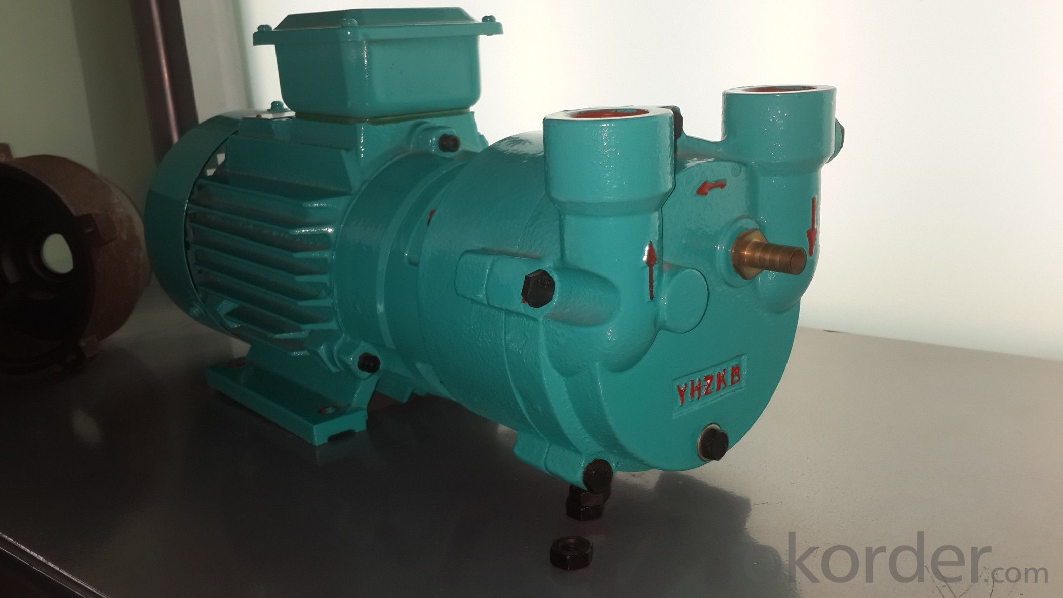 SK-3D water ring vacuum pump with flange port