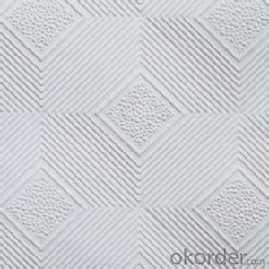 Gypsum Board Ceiling Tile