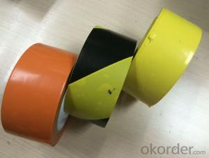 pvc underground warning tape / pvc tape